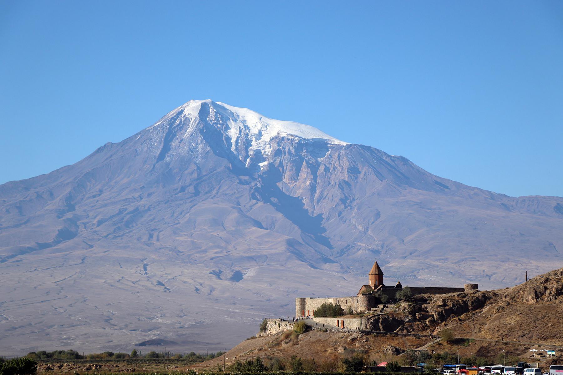 Khor Virap Kloster vorm Ararat