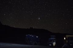 Nachthimmel in Tushetien